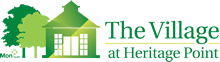 The Village at Heritage Point mobile logo